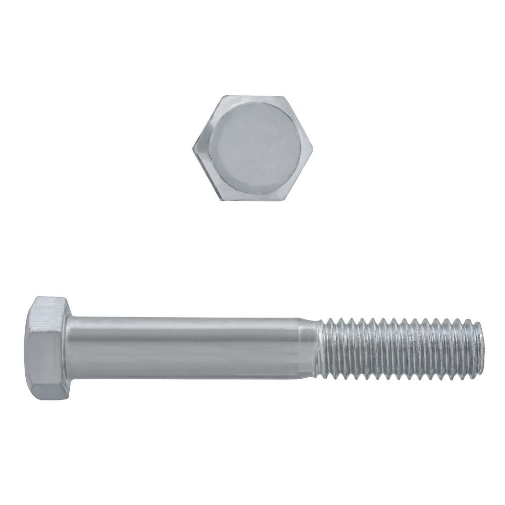 3/8x2-1/2 boulons de precision acier inox. 18-8
