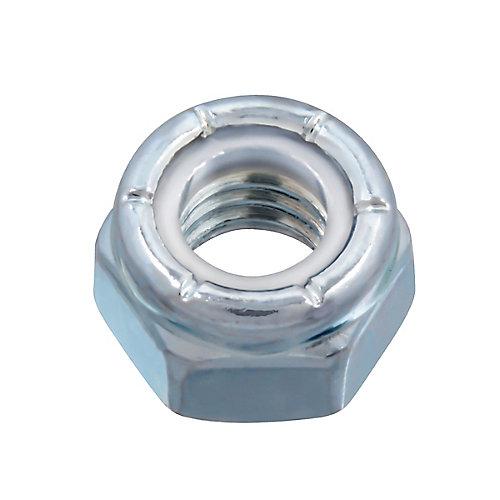 5/16-inch-18 Nylon Insert Stop Nut - Pozi-Lok - Zinc Plated - UNC