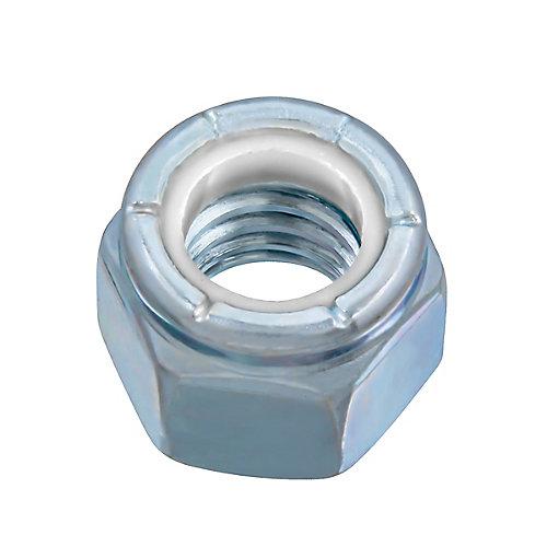 3/8-inch-16 Nylon Insert Stop Nut - Pozi-Lok - Zinc Plated - UNC