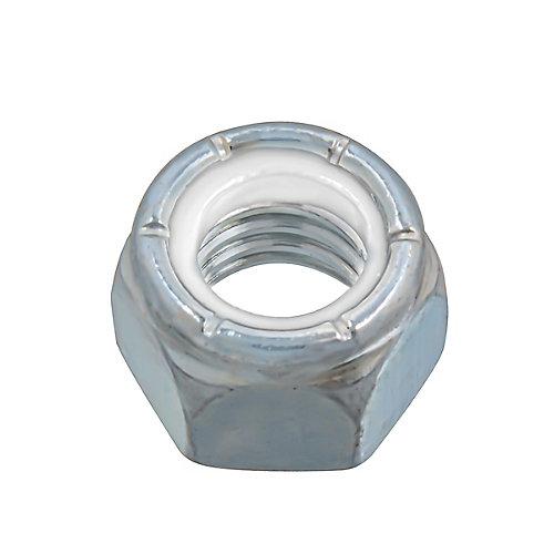 7/16-inch-14 Nylon Insert Stop Nut - Pozi-Lok - Zinc Plated - UNC