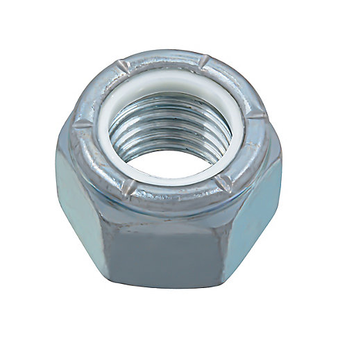 7/8-inch-9 Nylon Insert Stop Nut - Pozi-Lok - Zinc Plated - UNC