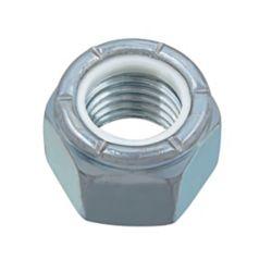 Paulin 7/8-inch-9 Nylon Insert Stop Nut - Pozi-Lok - Zinc Plated - UNC