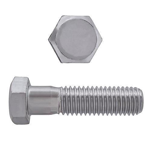 3/8-inch-16 x 1-1/2-inch 18.8 Stainless Steel Hex Head Cap Screw - UNC