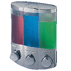 TRIO Dispenser for your Favorite Shower Liquids