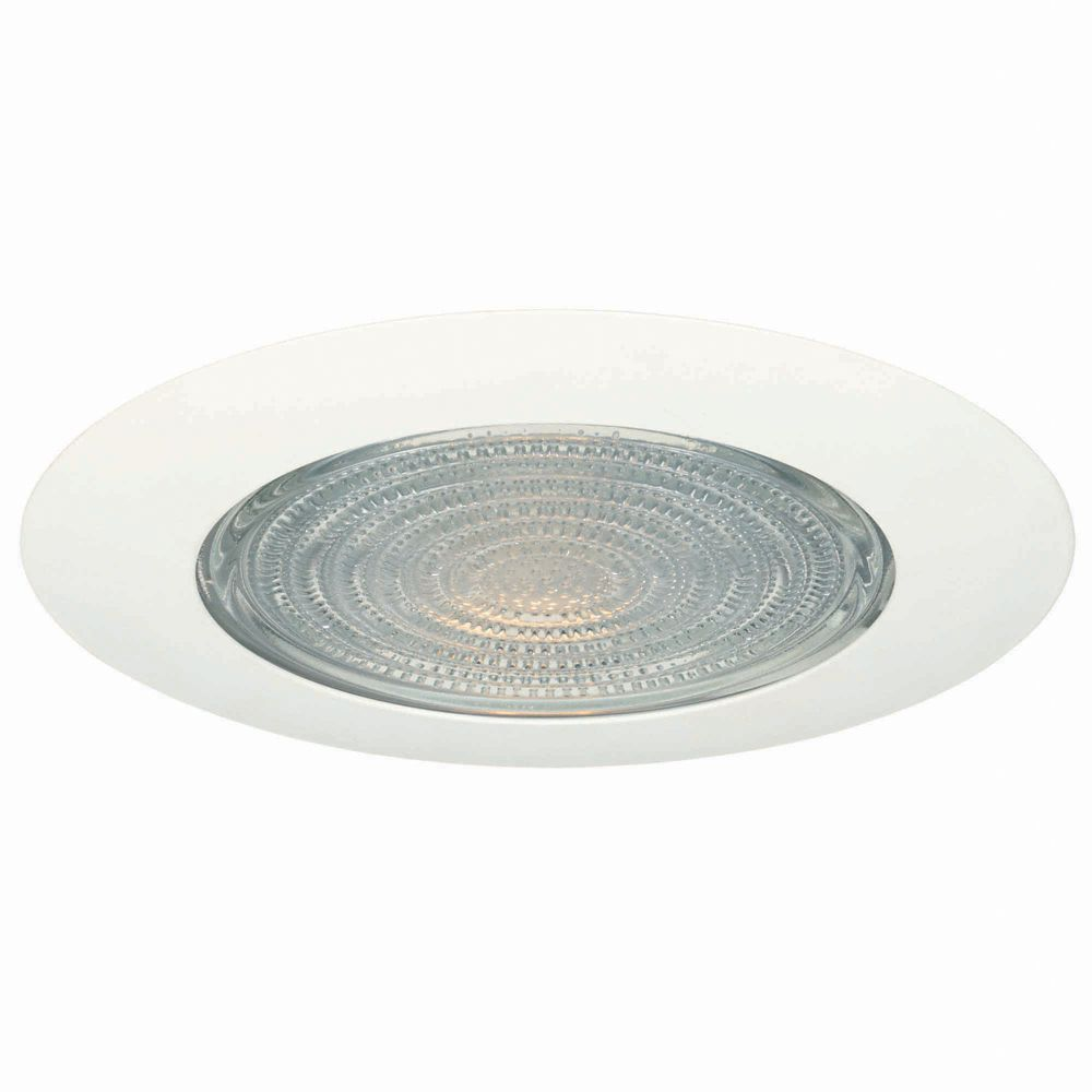 Ceiling lights the home depot canada 6 in shower trim with fresnel glass heat shield 60w40w aloadofball Choice Image