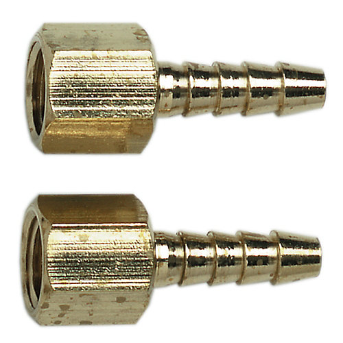 Hose end, 1/4 In. id barb x 1/4 In. (f)