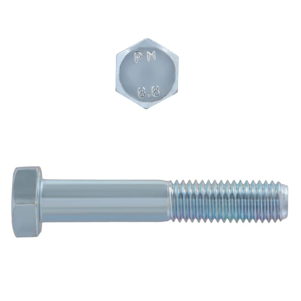 M12x70 Metric Bolts 8.8 Unc