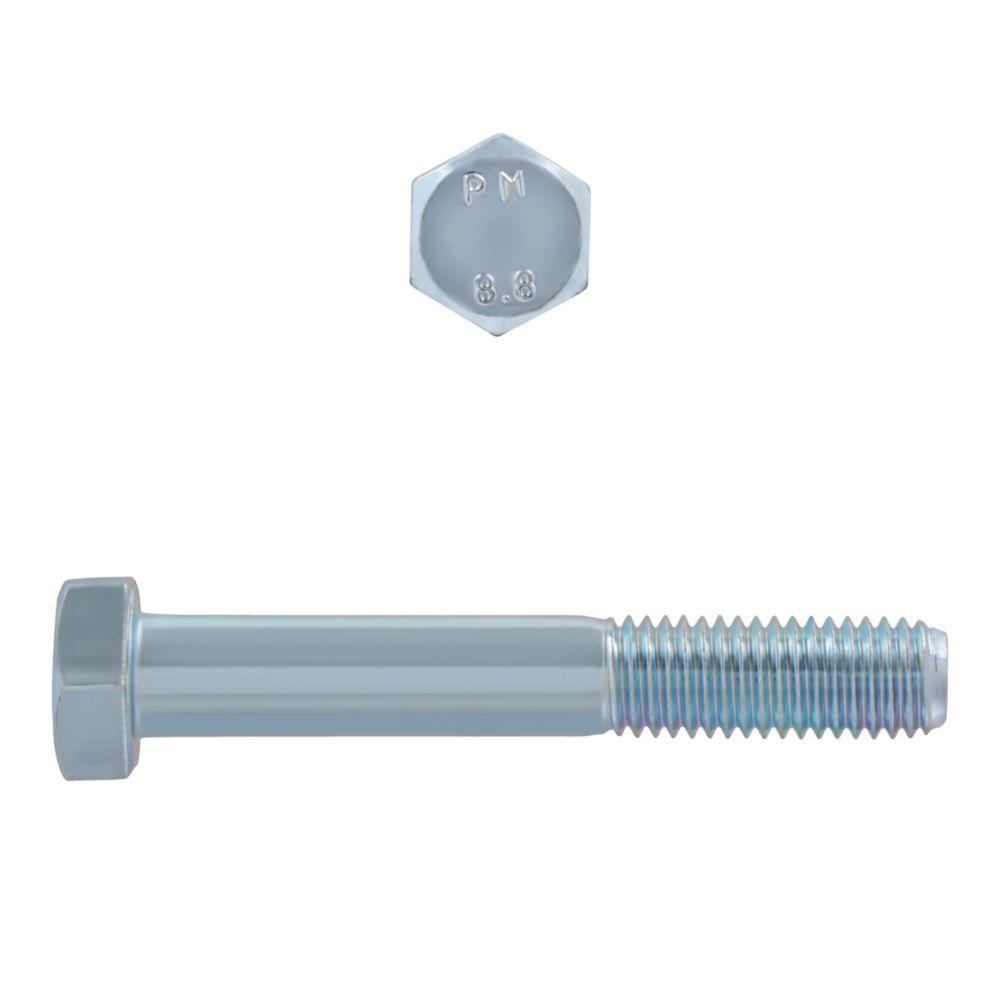 M12x80 Metric Bolts 8.8 Unc