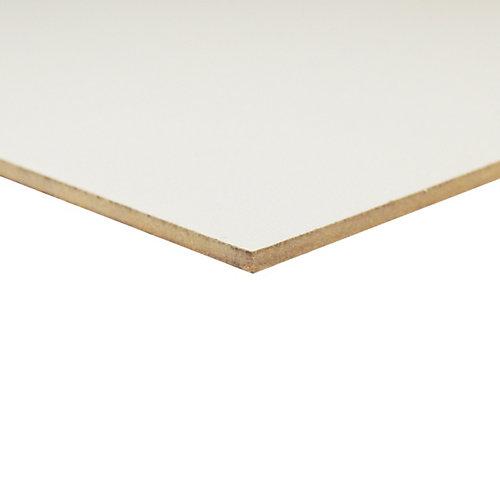 Goodfellow 1 8 Inch 2 Feet X 4 Feet White Hardboard Handy Panel