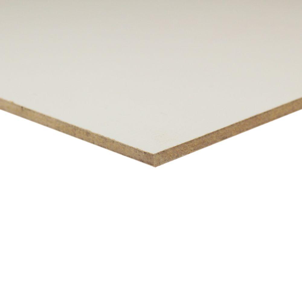 1/8 Inch  4 Feet x 4 Feet White Hardboard Handy Panel