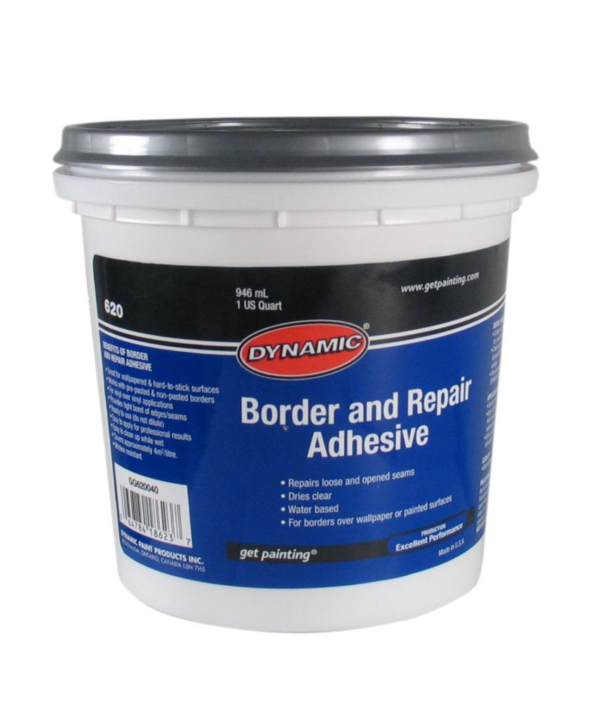 Dynamic border adhesive 946ml gg620040 canada discount for Discount wallpaper canada