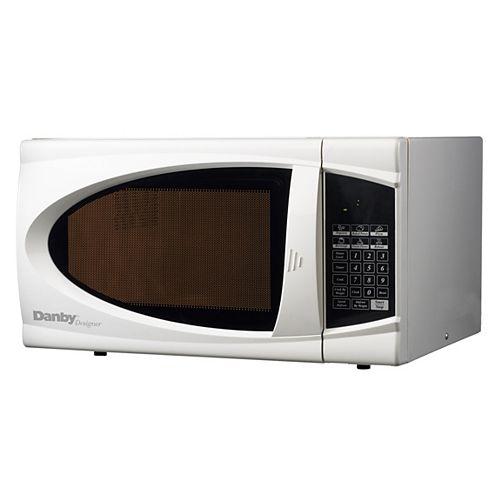 Danby Designer Designer 0.7 cu. ft. Countertop Microwave in White