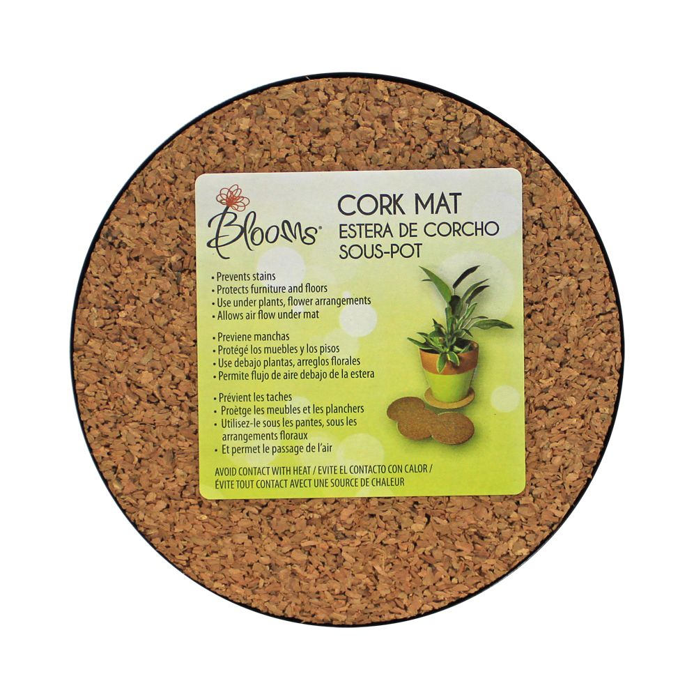 Gardeners Blue Ribbon 6  Inch Cork Mat