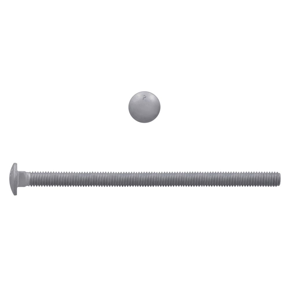 5/16x6 GR2 Carriage Bolt HDG