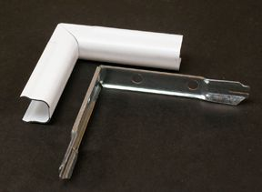 Inside Elbow Metal White