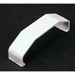 Legrand Wiremold CableMate Chair Rail Coupling White