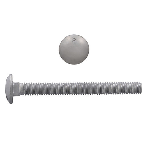 3/8-inch x 3-1/2-inch Carriage Bolt - Hot Dipped Galvanized - UNC