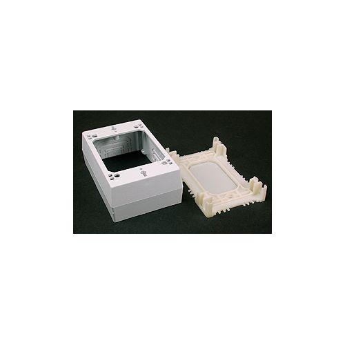 Legrand Wiremold CordMate II Data Comm. Box White