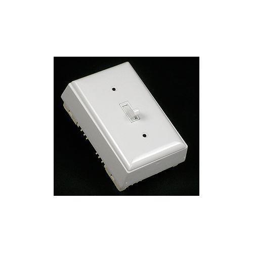 Legrand Wiremold Switch, Plate & Box Kit Non Metallic White