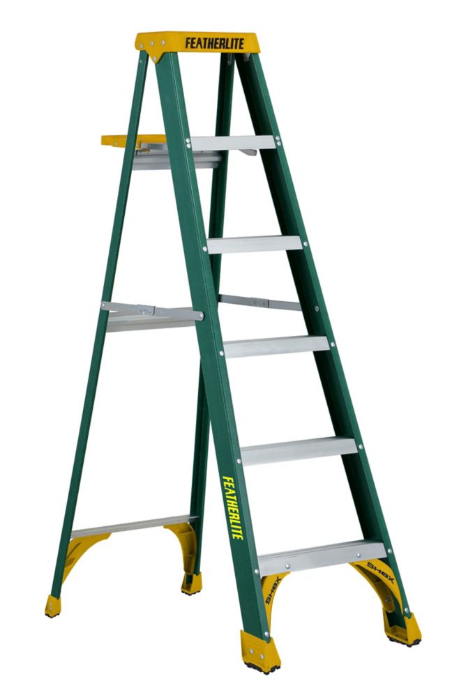 Featherlite 6 ft. Grade II Fibreglass Step Ladder