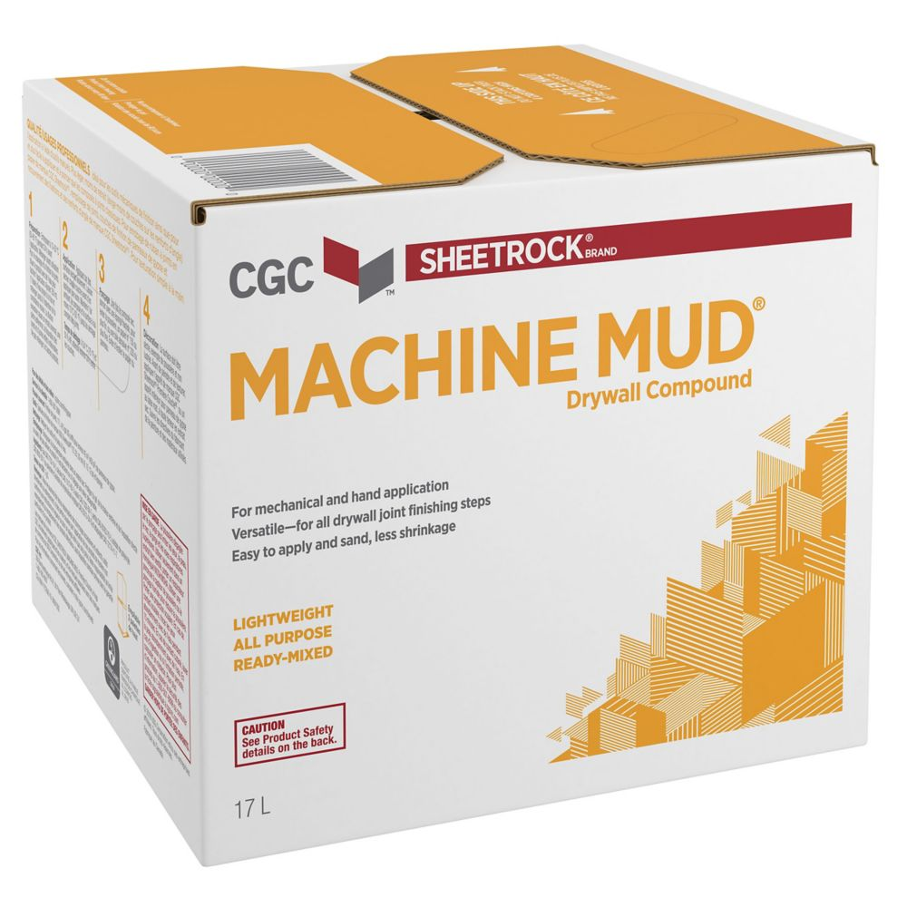 Machine Mud Drywall Compound, Ready Mixed, 20 kg Carton
