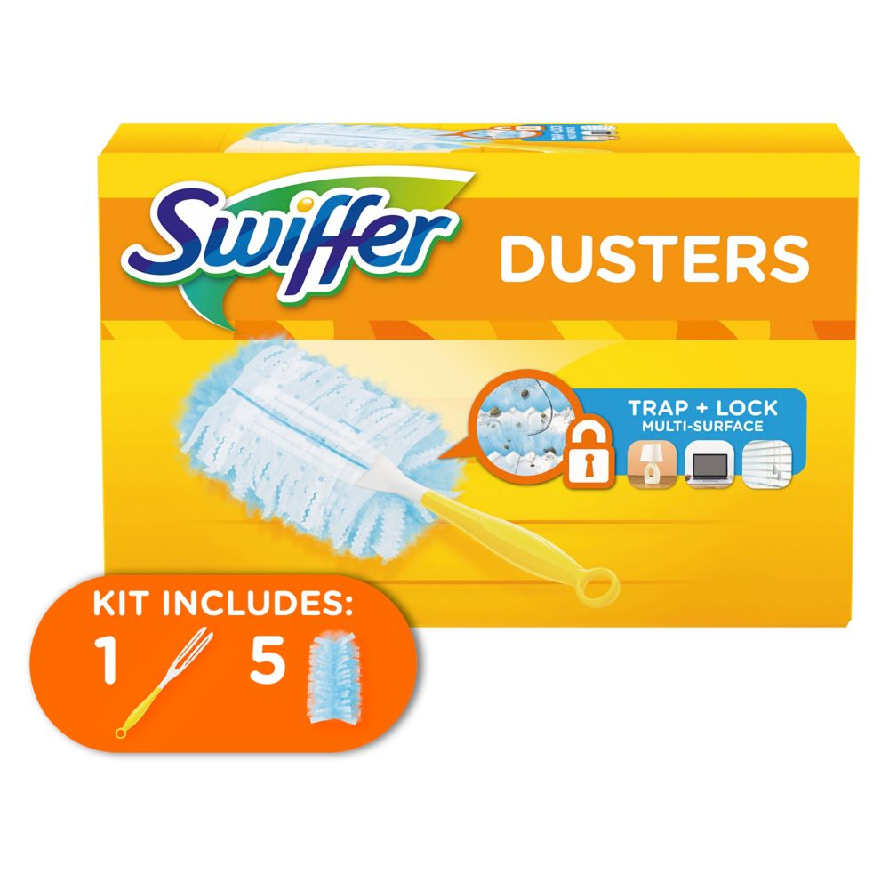Duster Starter Kit - Handle + 5 Cloths
