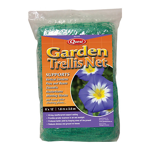 select 6 ft x 12 ft garden netting the home depot canada