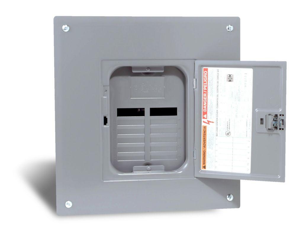 100 Amp QO Sub Panel Loadcentre with 12 spaces, 24 Circuits Maximum