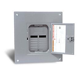 Square D 100 Amp  Sub Panel Loadcentre with 12 spaces, 24 Circuits Maximum
