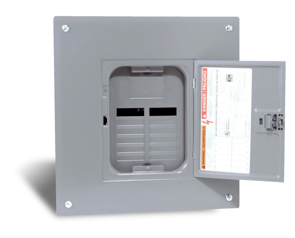100 Amp  Sub Panel Loadcentre with 12 spaces, 24 Circuits Maximum