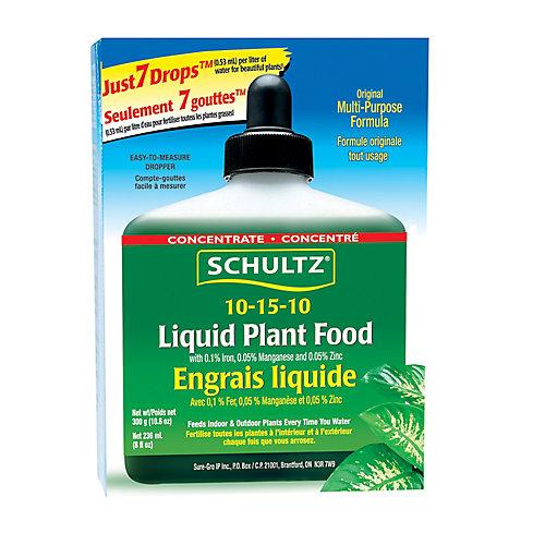 Engrais liquide 10-15-10 Schultz (300 g)