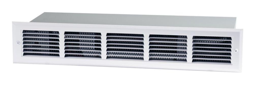 Dimplex 450-1800W/120-240V Kick Space Electric Heater - White