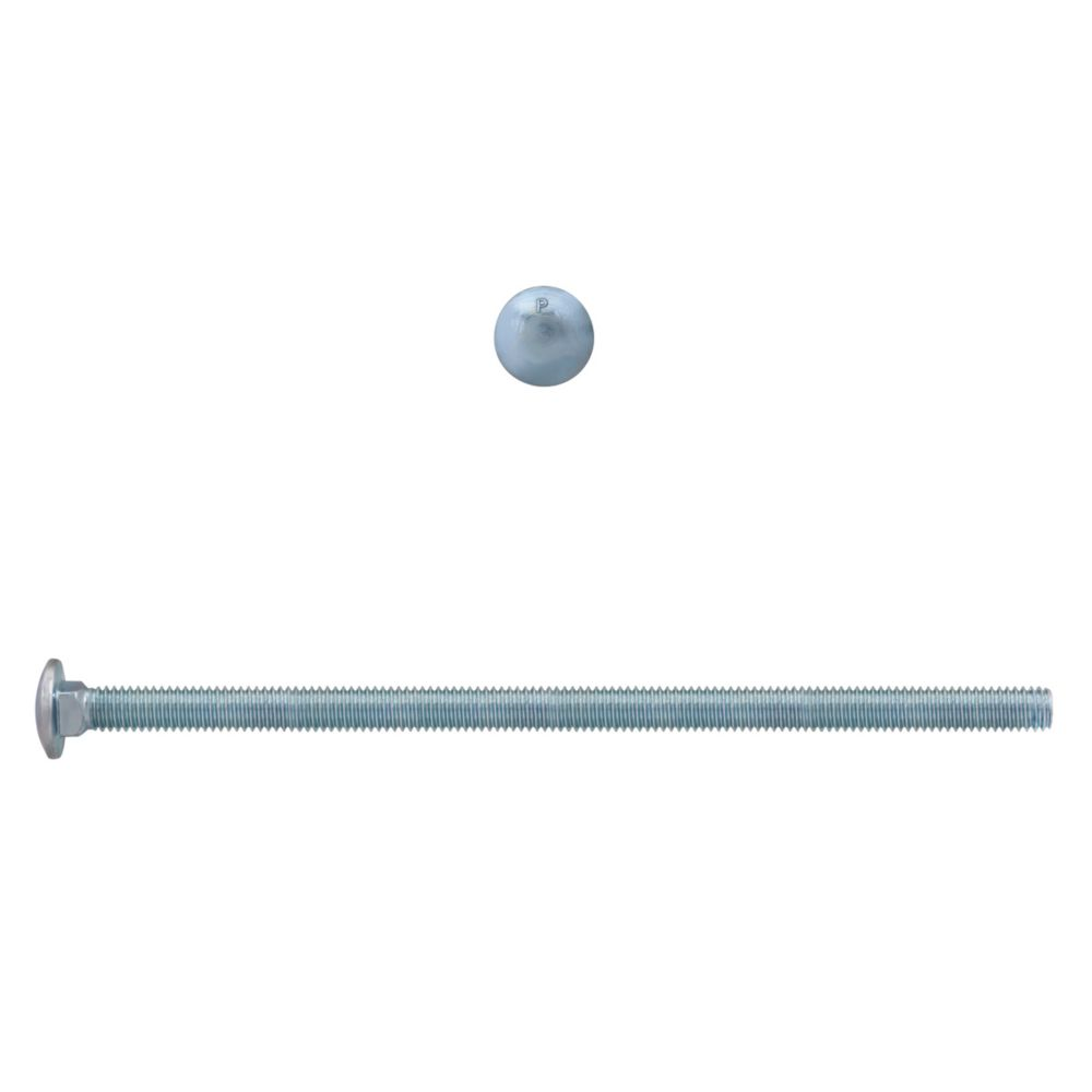 3/8x8 Carriage Bolt GR2 Unc