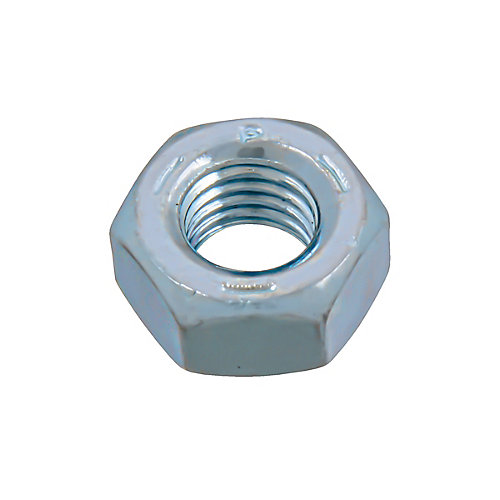 1/4-inch-28 Finished Hex Nut - Zinc Plated - Grade 5 - UNF
