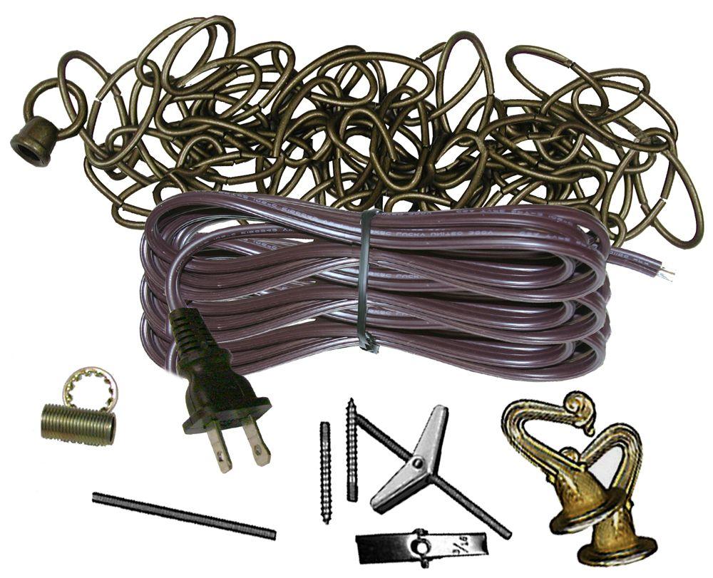Antique Brass Swag Kit