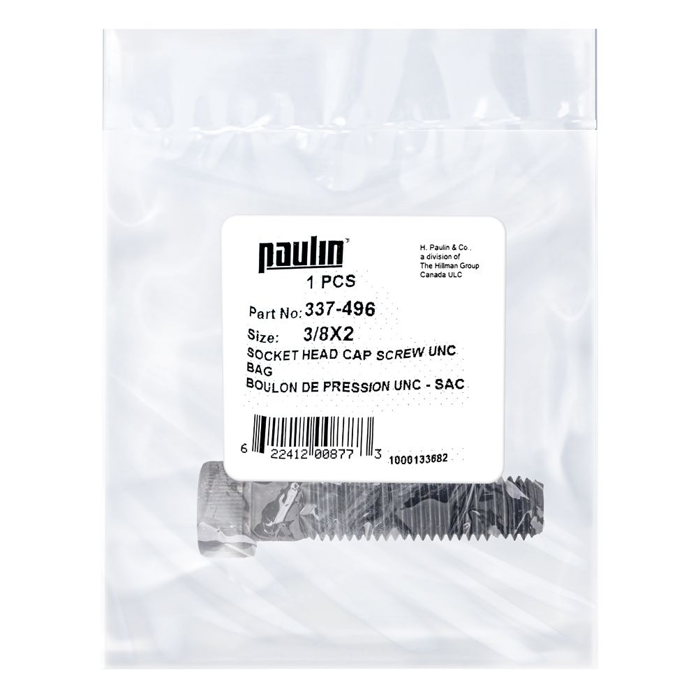 Papc 3/8X2 Sock Hd Cap Screw Unc 1Pc