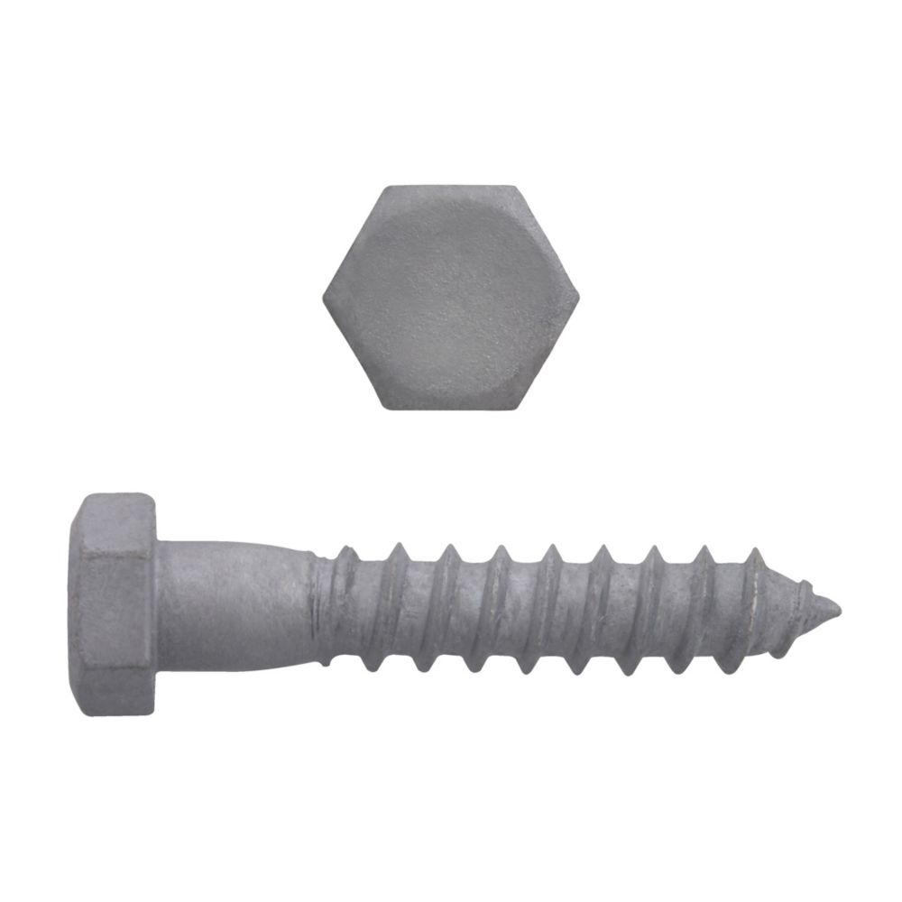 3/8x2 Hex Hd Lag Bolt HDG