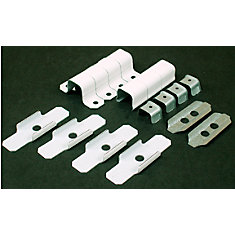 Metal 700 Series Raceway Accessory Kit White