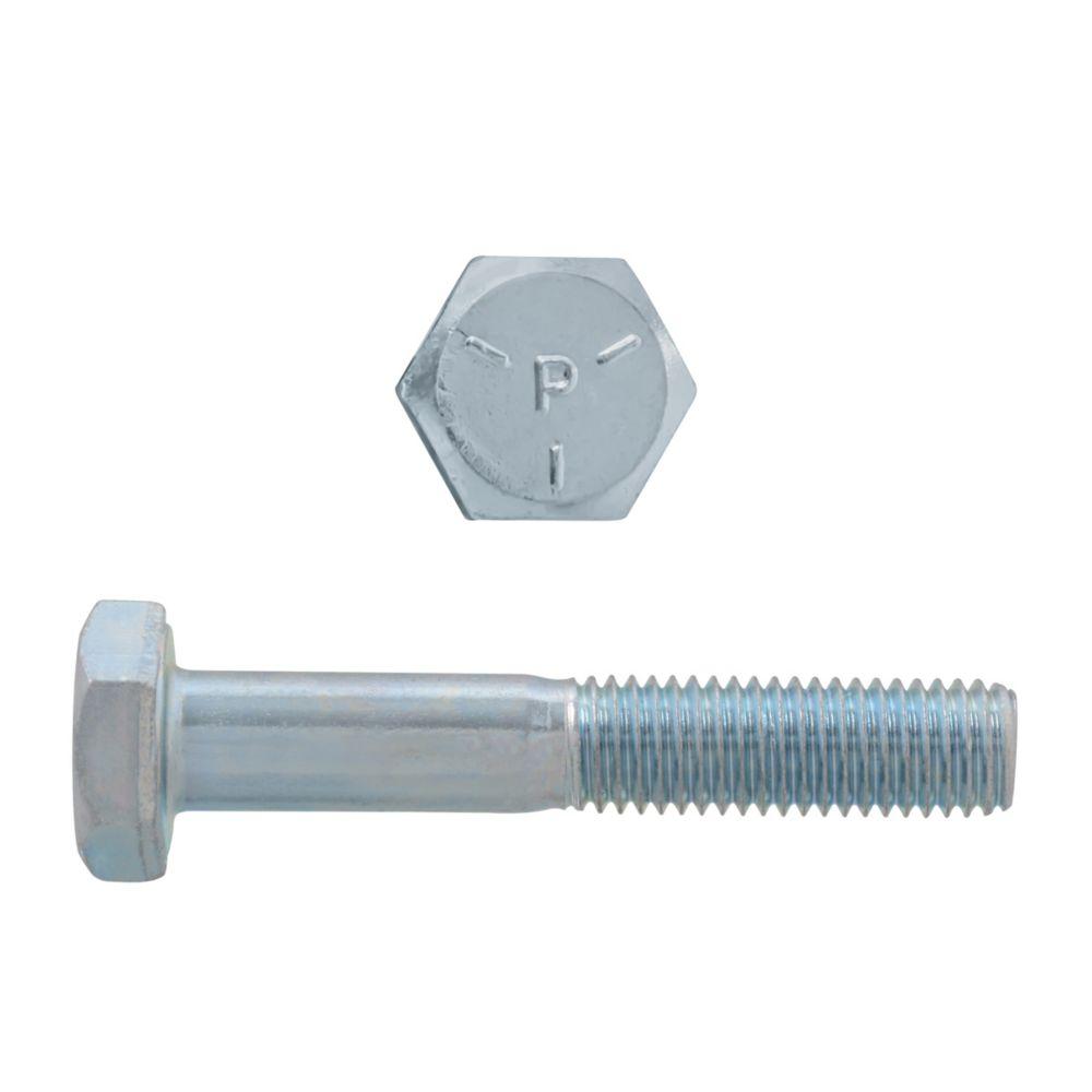 1/4x1-1/2 Boulons Hex Classe 5 Zinc Plaqué Unf