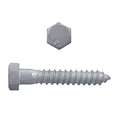1/2x3 Hex Hd Lag Bolt HDG