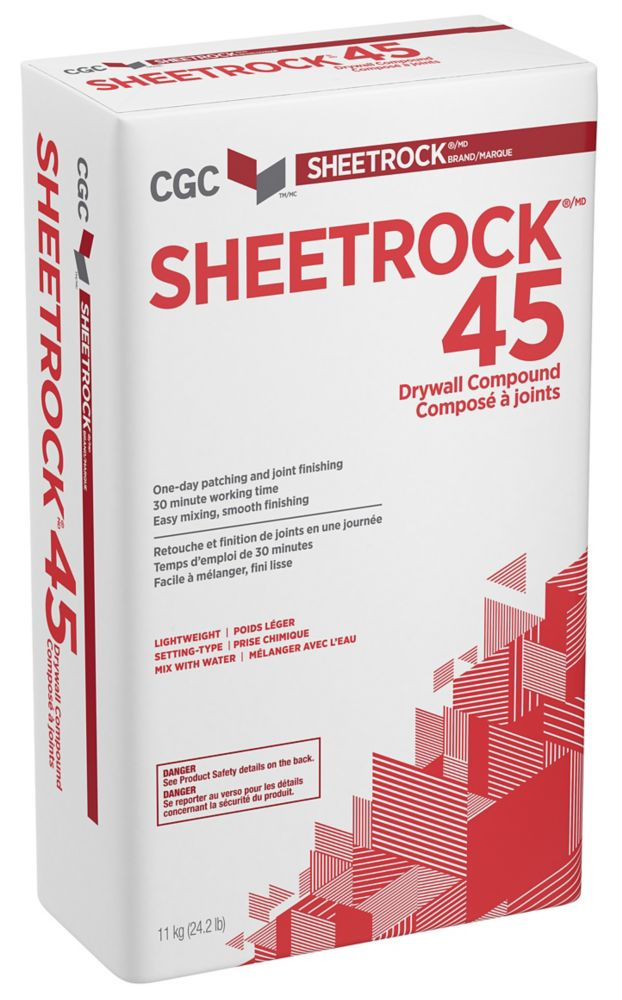 SHEETROCK 45 Setting-Type Joint Compound, 11 kg Bag