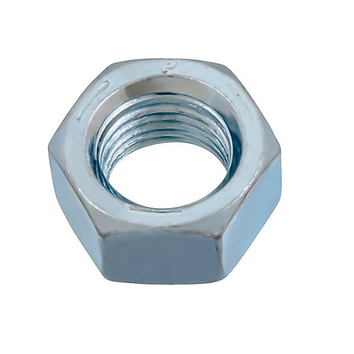 3/8-inch-24 Finished Hex Nut - Zinc Plated - Grade 5 - UNF