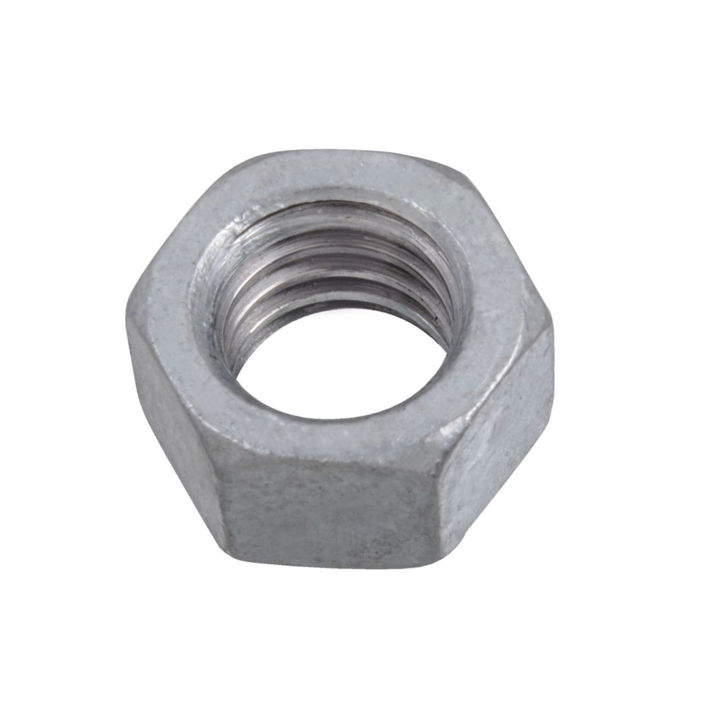 3/8-16 Fin Hex Nuts HDG