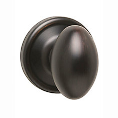 Welcome Home Collections laurel single dummy knob - venetian bronze finish