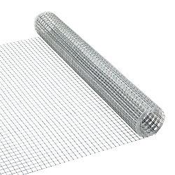 Peak Products Grillage de quincaillerie 1/2 pouces x 1/2 pouces x 24 pouces x 5 pieds