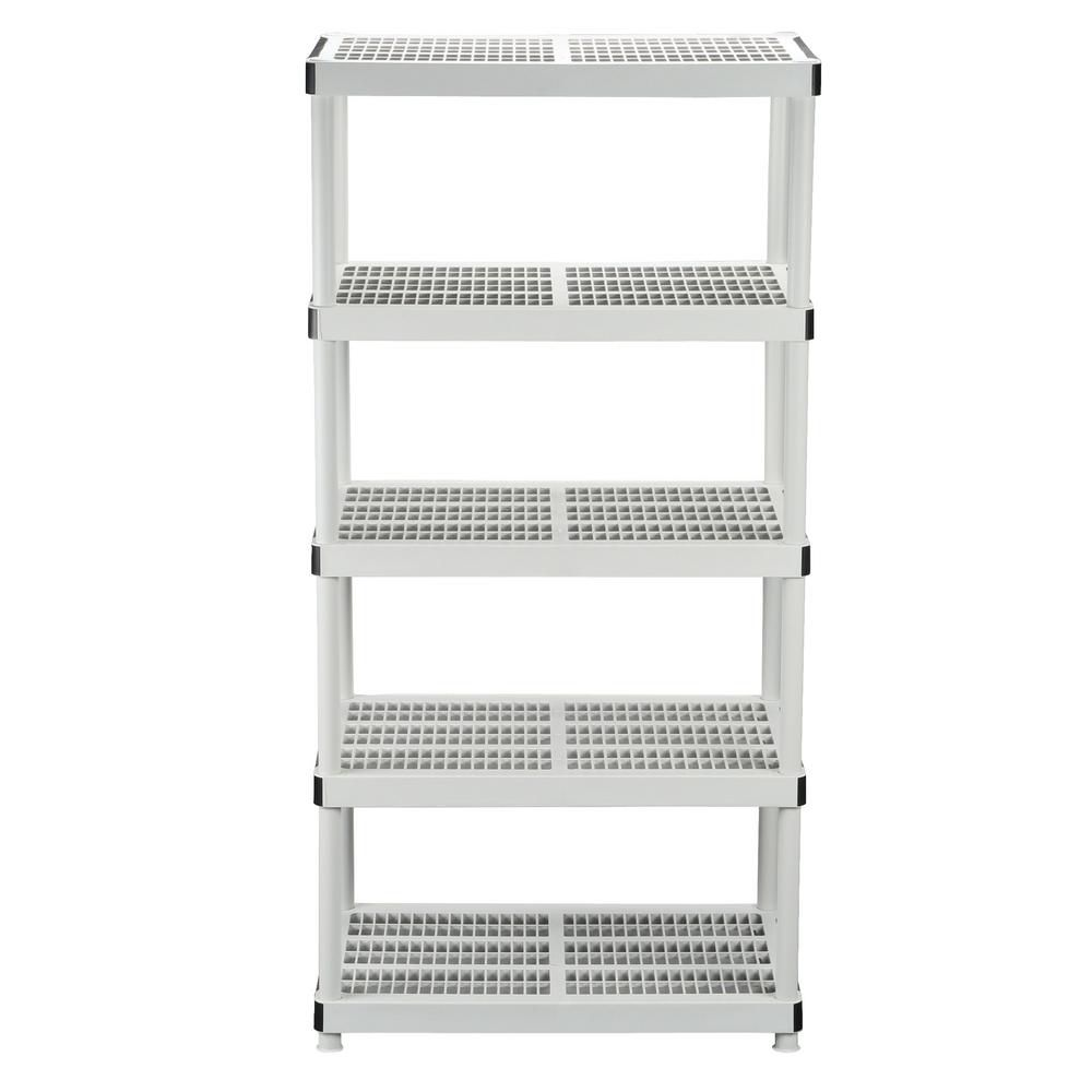 24 Inch 5-Shelf Storage Organizer