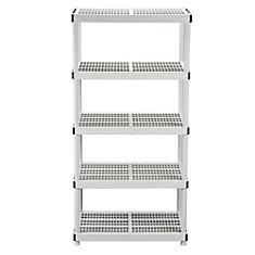 24-inch 5-Shelf Storage Organizer