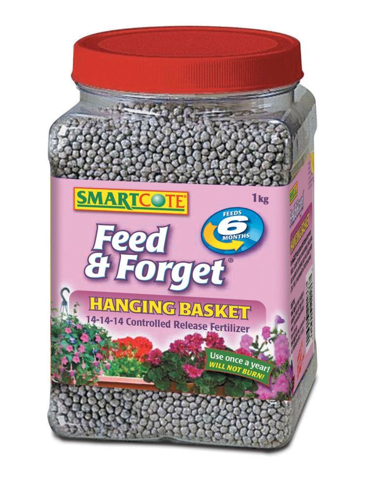 Hanging Flower Baskets Home Depot Canada : Smartcode hanging basket fertilizer kg the home