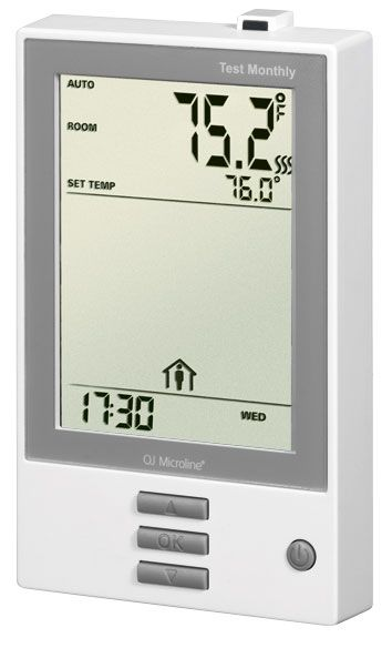 True Comfort Electronic Programmable Thermostat 120/240 V for TC Floor Heating Systems
