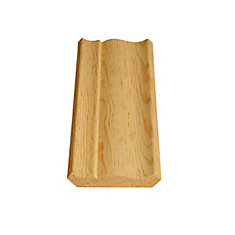 Solid Clear Pine Ogee/Crown 9/16 In. x 3-1/8 In.